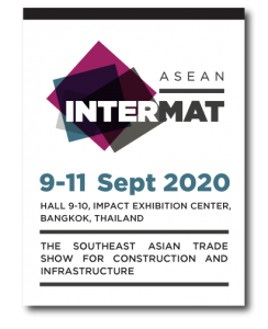 Intermat ASEAN/Concrete Asia 2020, Bangkok, Thailand @ Hall 9-10 IMPACT Exhibition and Convention Centre