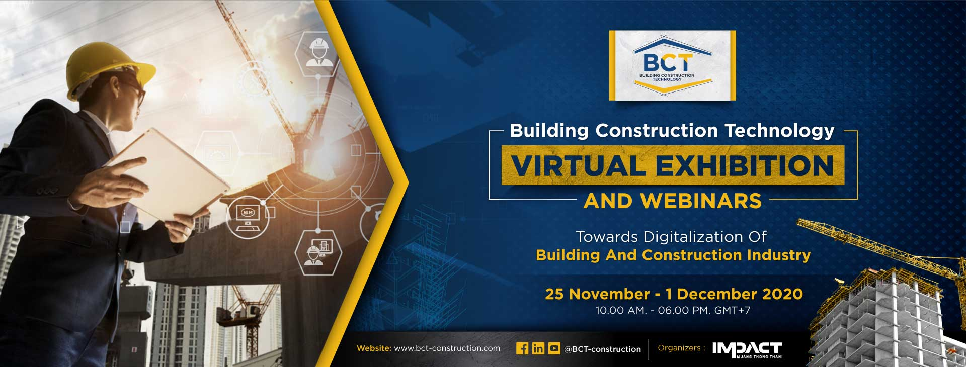 Building Construction Technology (Virtual Event)