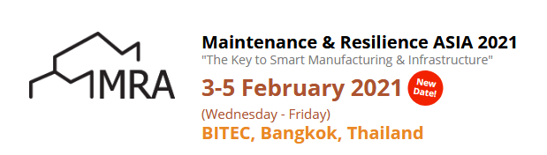 Maintenance & Resilience ASIA 2021 @ Bangkok International Trade & Exhibition Centre (BITEC), Bangkok, Thailand