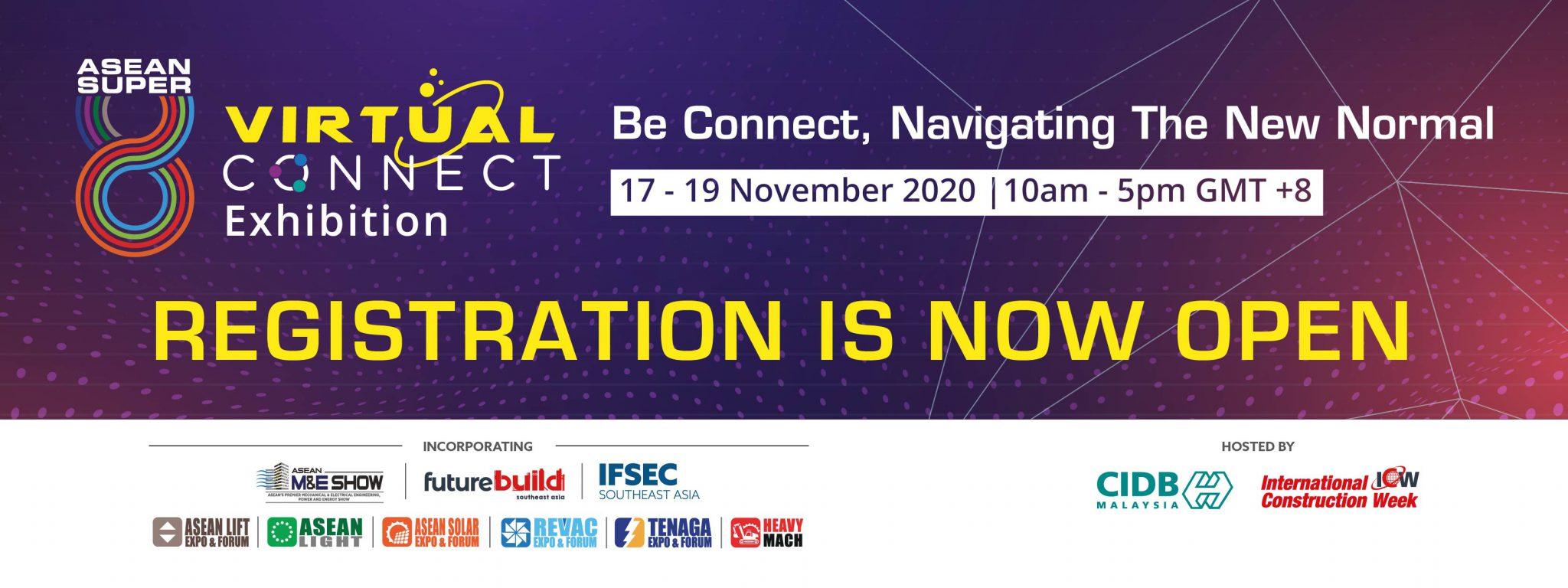 ASEAN Super 8 Virtual Connect Banner